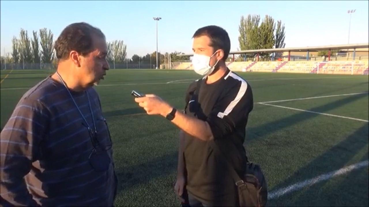 FÉLIX JIMÉNEZ (Entrenador Tamarite) Zaragoza 2014 Oliver 1-5 CDJ Tamarite / Jornada 5 / Preferente Gr 1