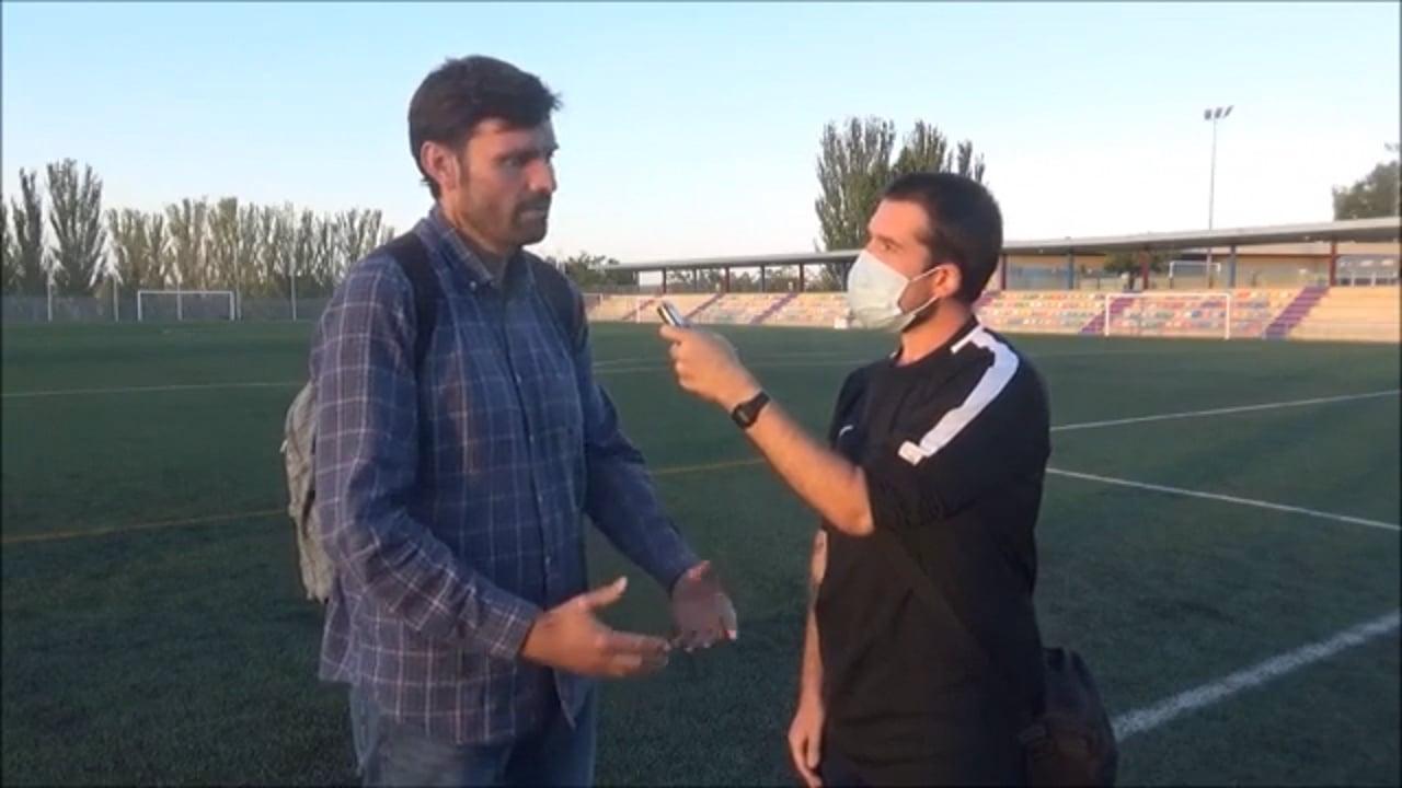 JOAQUÍN REGALADO (Entrenador Zaragoza 2014) Zaragoza 2014 Oliver 1-5 CDJ Tamarite / Jornada 5 / Preferente Gr 1