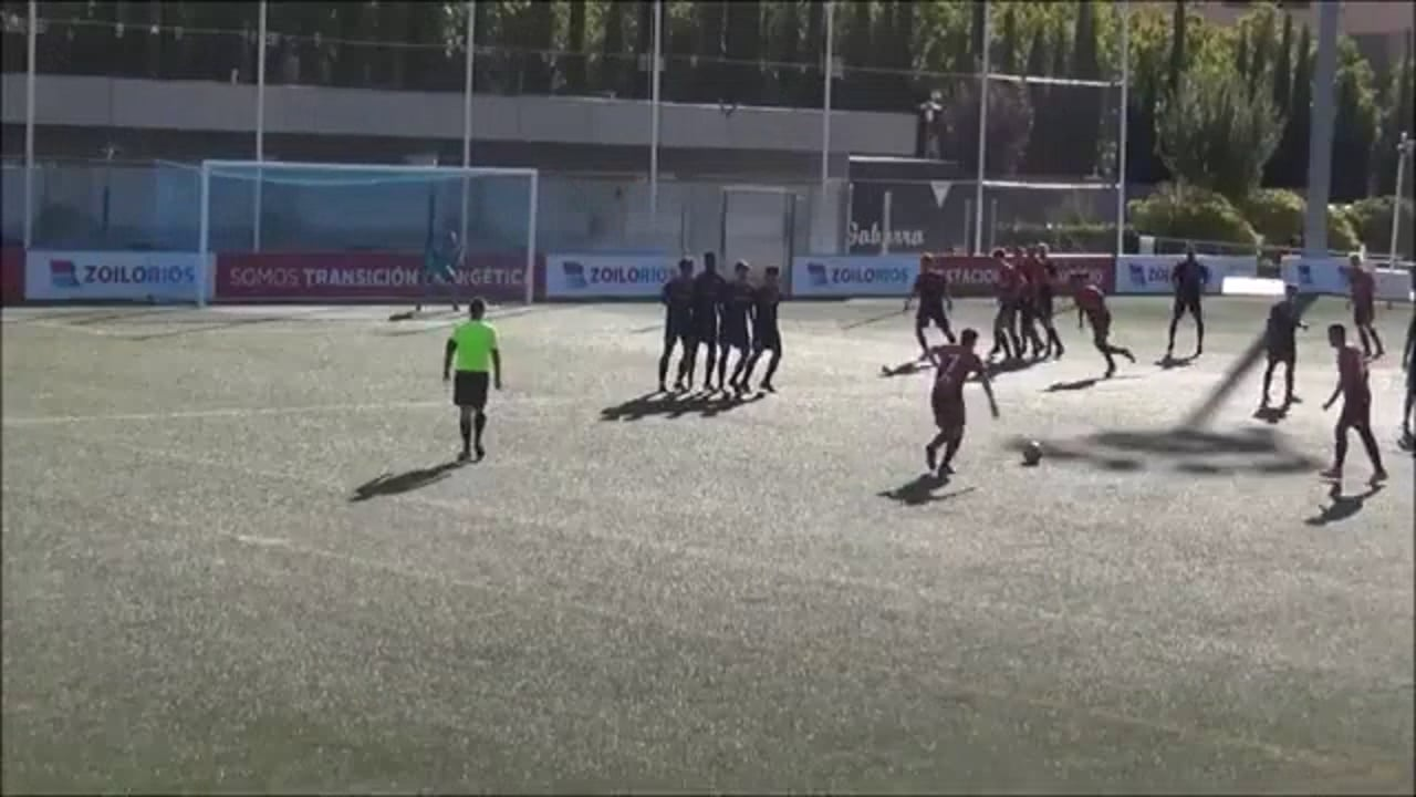 (RESUMEN y GOLES) Zaragoza 2014 Oliver 1-5 CDJ Tamarite / Jornada 5 / Preferente Gr 1 / Fuente Canal YouTube Raúl Futbolero