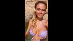 Diletta Leotta si gode il mare: relax ad Ibiza