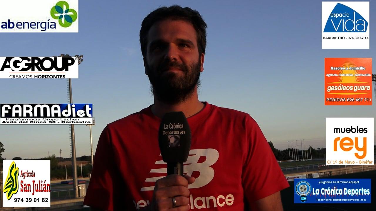 JOSEMI (Entrenador Alcolea) UD Fraga 5-0 CF Alcolea / Jornada 5 / Preferente Gr 1