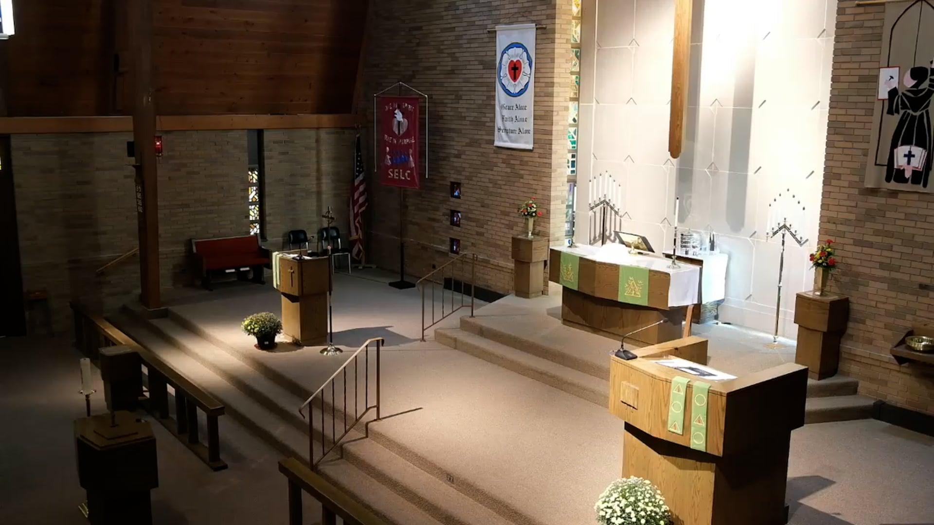 Divine Service, 20th Sunday after Pentecost