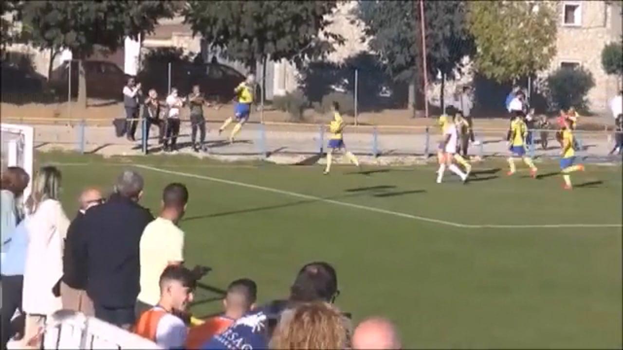 (RESUMEN y GOLES) Santa Anastasia 3-0 SD Borja / Jornada 6 / 3ª División / Fuente Canal YouTube Raúl Futbolero