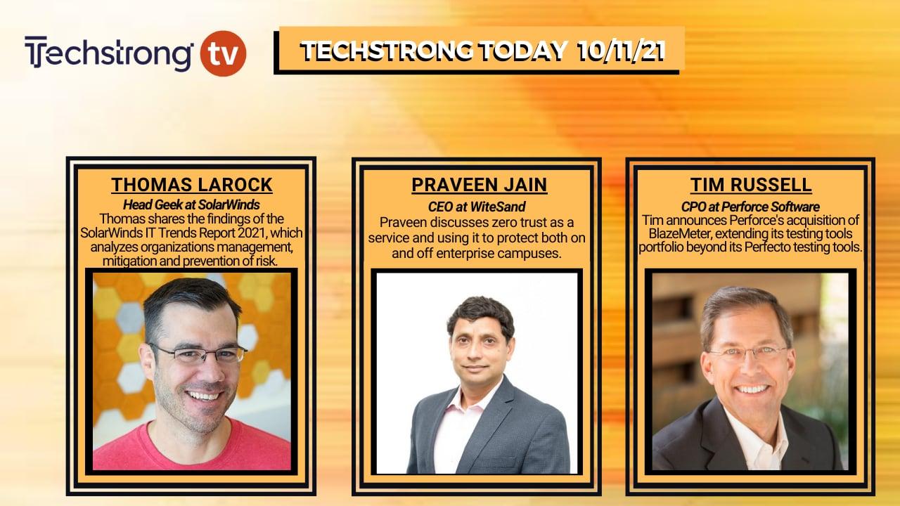 TechStrong TV – October 11, 2021