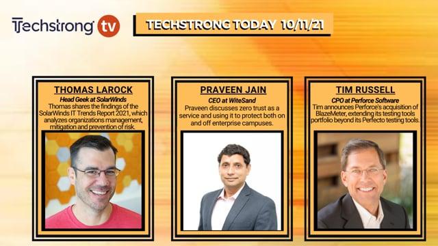 TechStrong TV - October 11, 2021
