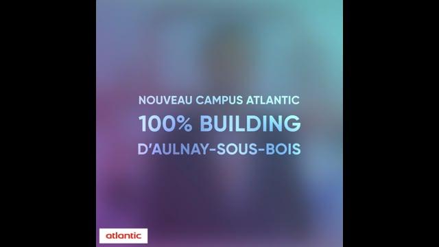 628883582 Nouveau Campus Atlantic 100% Building Aulnay-Sous-Bois
