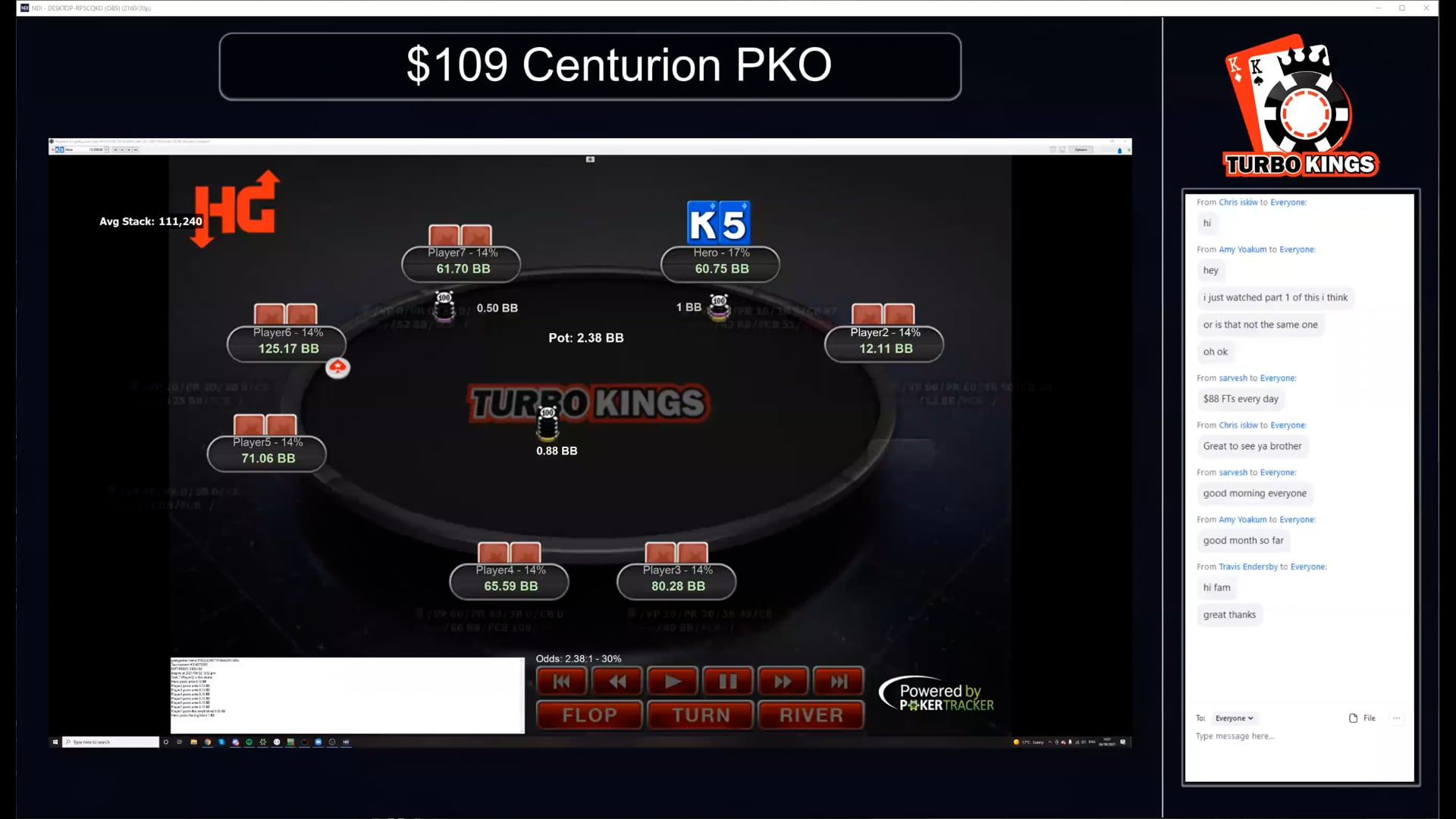 2021_10_06 - Brad - 109$ Centurion PKO part 1
