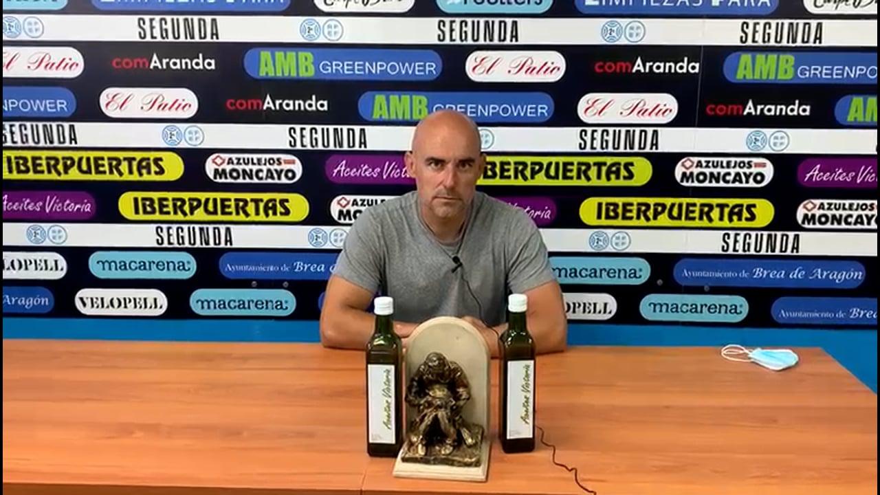DANI MARTÍNEZ (Entrenador Brea) CD Brea 1-3 SD Formentera / Jornada 6 / 2ª RFEF - Gr 3 / Fuente Facebook CD Brea