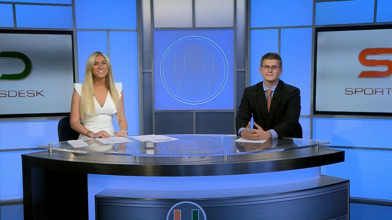 SportsDesk @ 7pm   October 8, 2021   UMTV Live