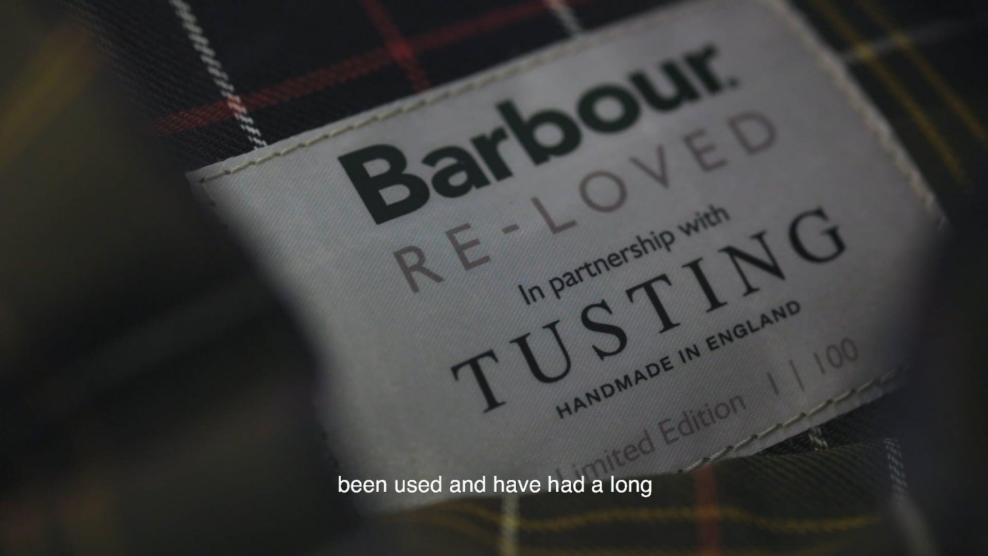 Tusting x Barbour Re-Loved