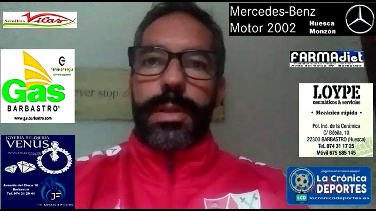 RICHI GIL (Entrenador Barbastro) CF Calamocha 2-4 UD Barbastro / Jornada 6 / 3ª División