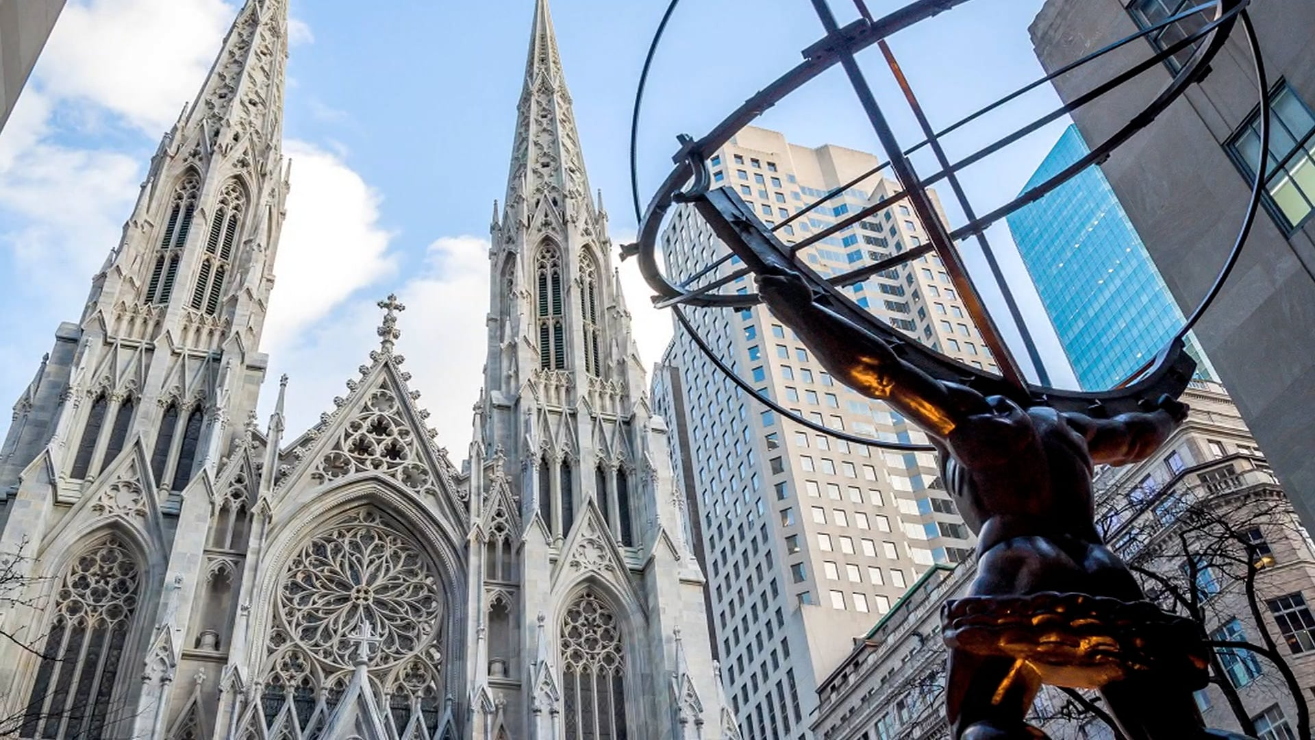 Columbus Day Mass from St. Patrick's Cathedral