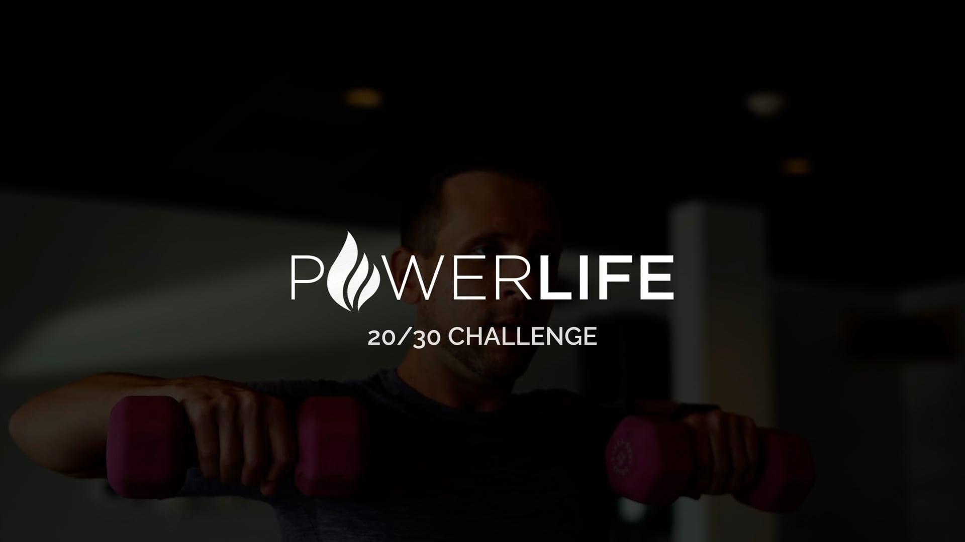 20 for 30   Power Life Yoga