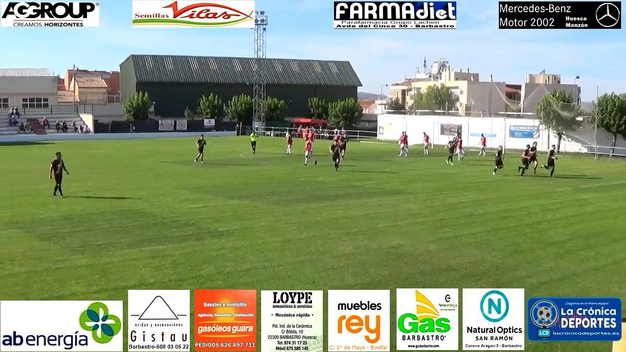 (RESUMEN y GOLES) CF Calamocha 2-4 UD Barbastro / Jornada 6 / 3ª División