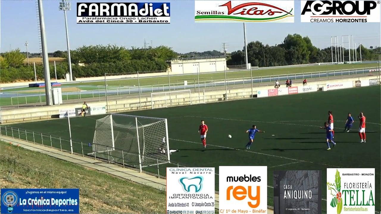 (RESUMEN y GOLES) Peña Ferranca 1-2 CD Valdefierro / Jornada 5 / Preferente Gr 1