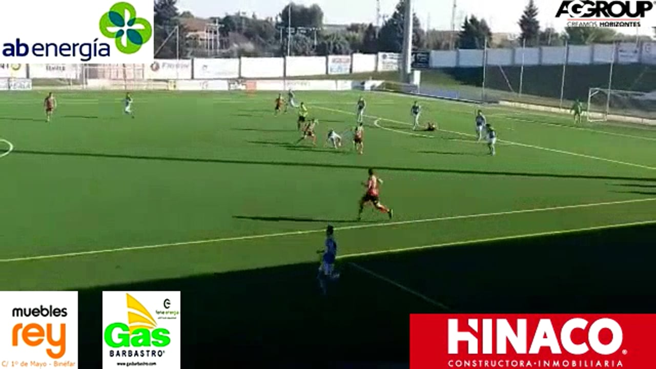 (RESUMEN) CD BINÉFAR 1-1 ÉPILA / Jornada 6 / 3ª División