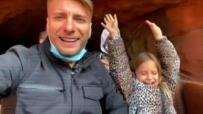 Ciro Immobile e Jessica Melena, tra spasso e paure a Disneyland Paris