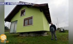Man Make Rotating House