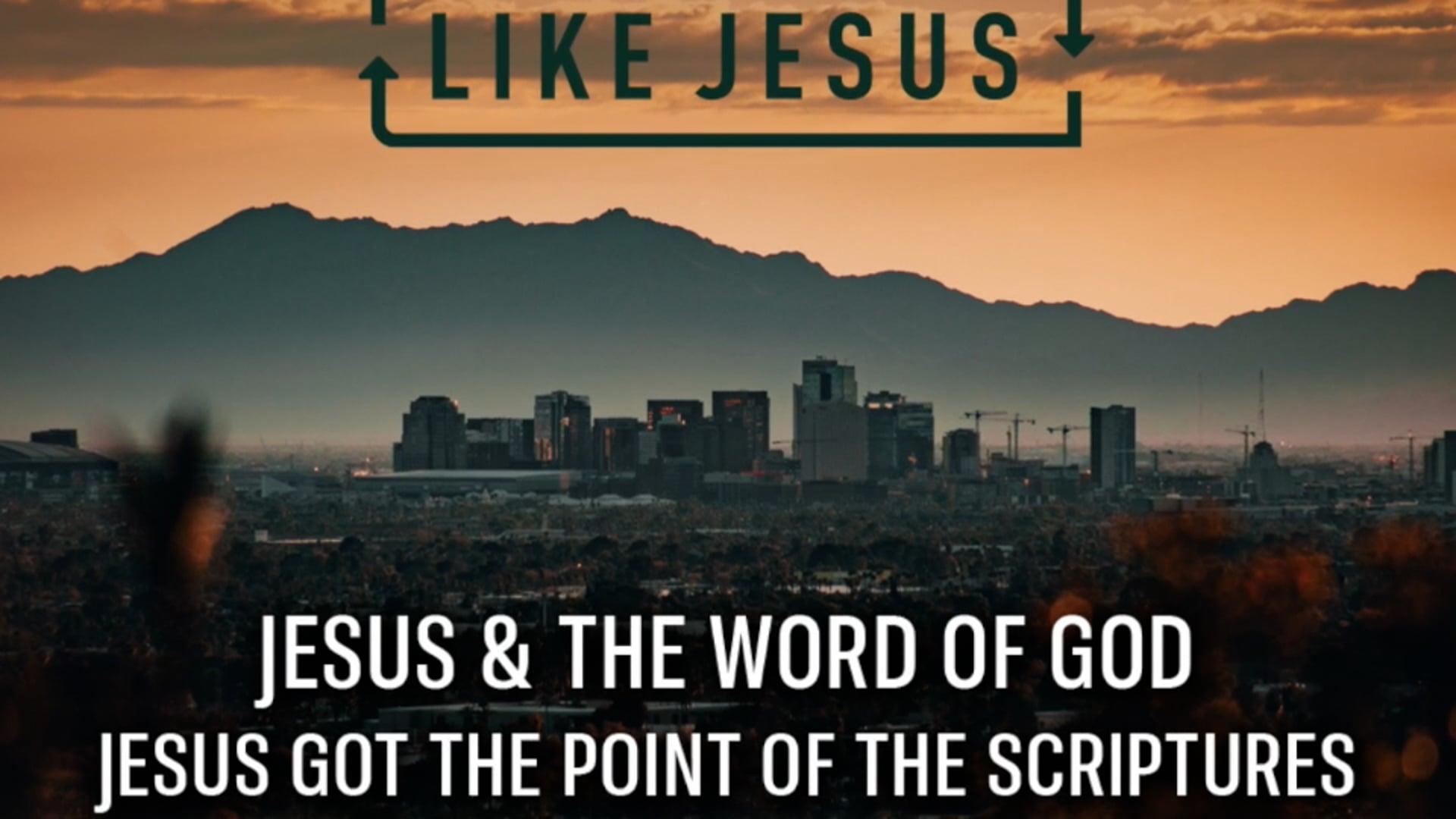 Jesus got the Point of Scriptures