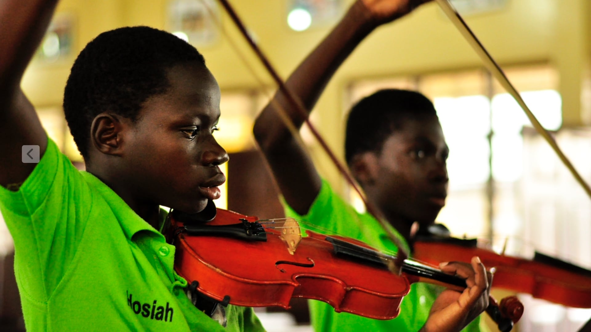 Keys of Change and the birth of the Accra Youth Sinfonietta