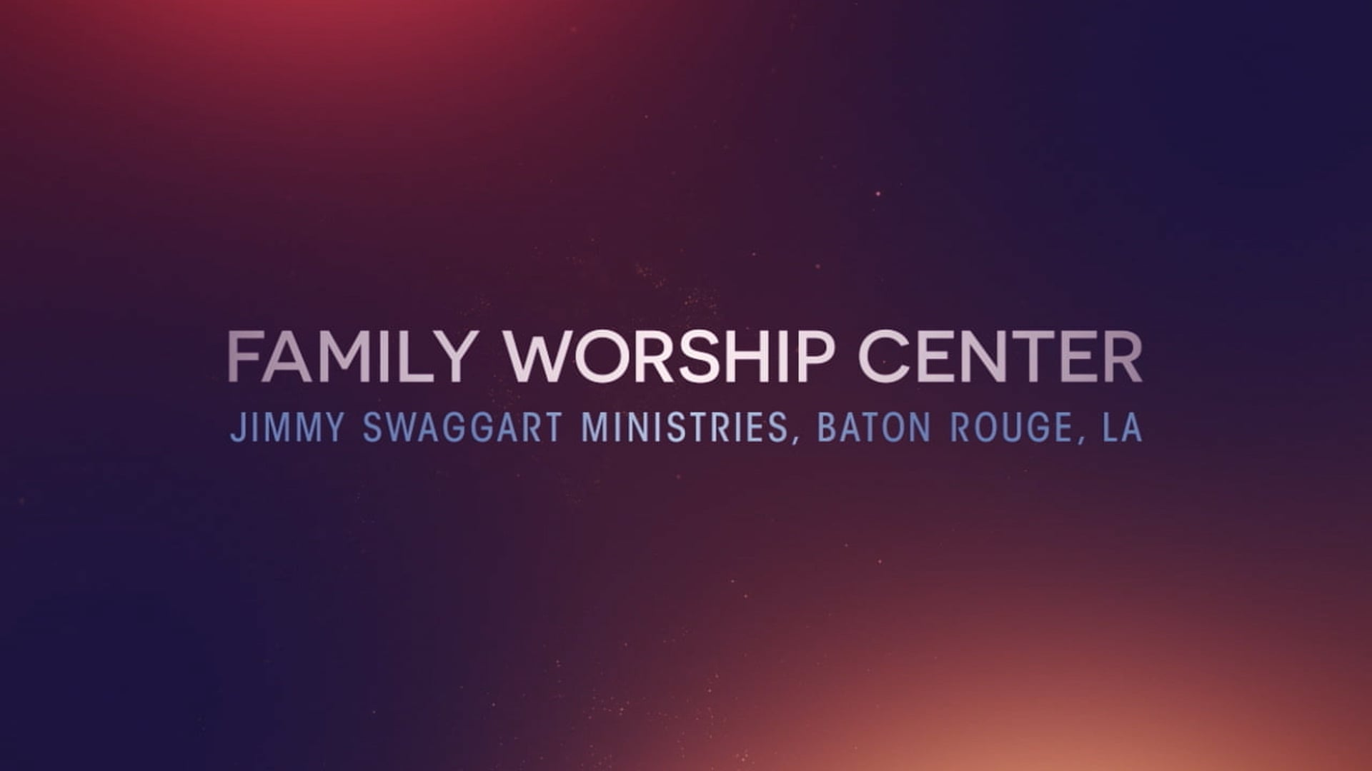 Sunday Morning Service - Oct. 10th, 2021