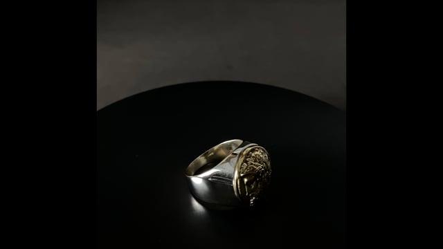 video do produto Anel - Cronos 95% Prata | Ring – Cronos 95% Silver