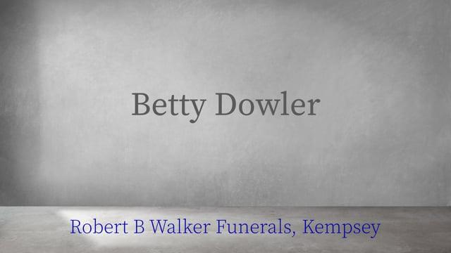 Betty Dowler