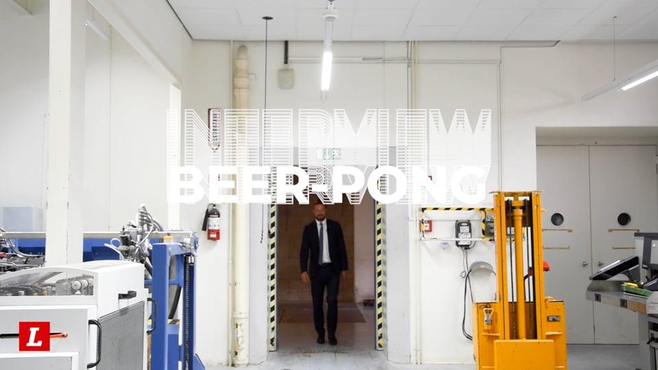 L'interview beer pong de Romain Collaud
