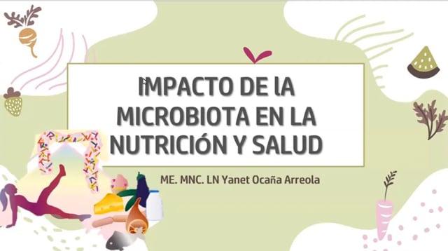 Impacto de la microbiota en la nutrición y salud