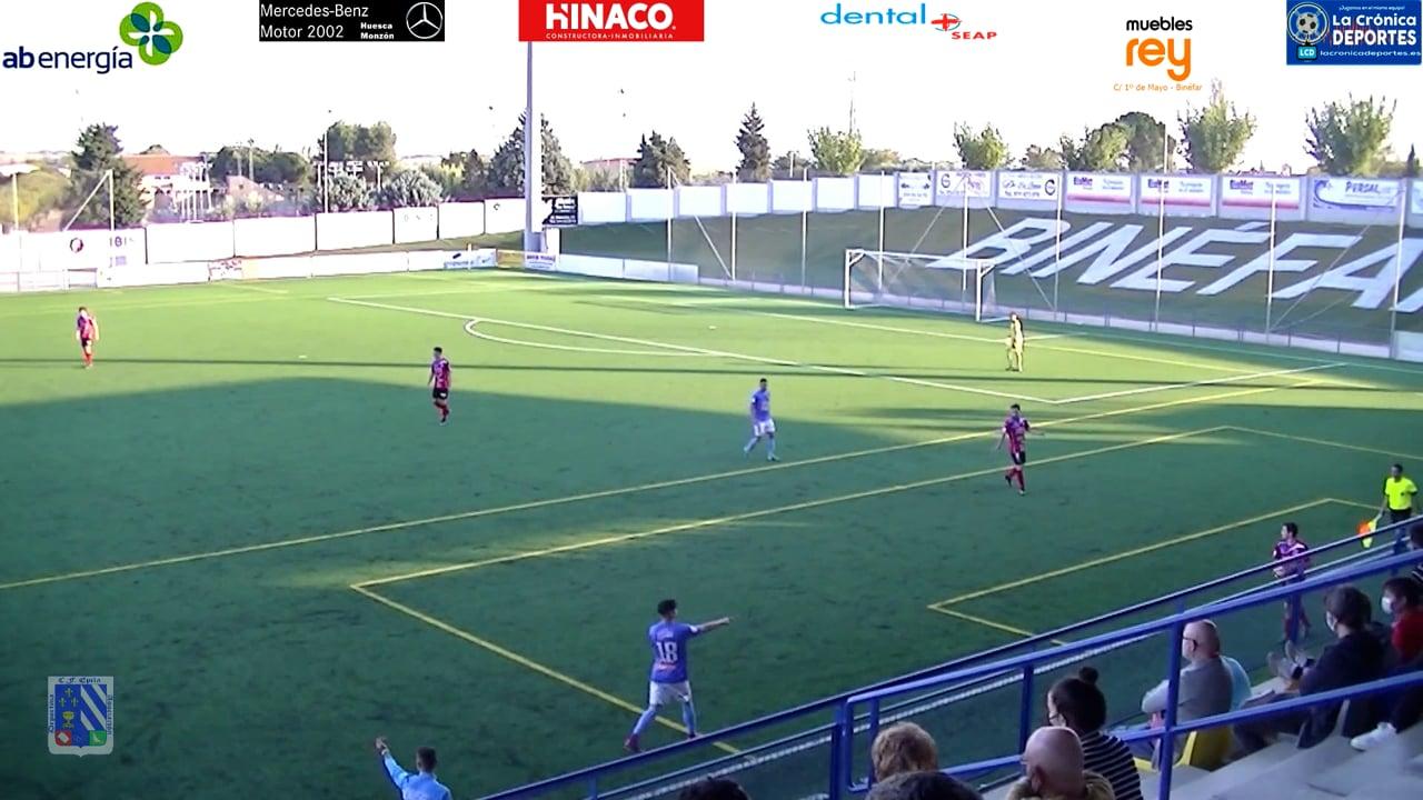 GOL DE ÁLVAREZ / CD BINÉFAR 1-1 ÉPILA / Jornada 6 / 3ª División
