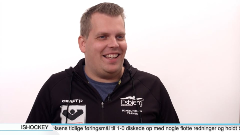 Mikkel Bækkel Møller - Klubchef, Esbjerg Svømmeklub