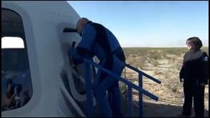 Blue Origin: il momento dell'apertura del portellone