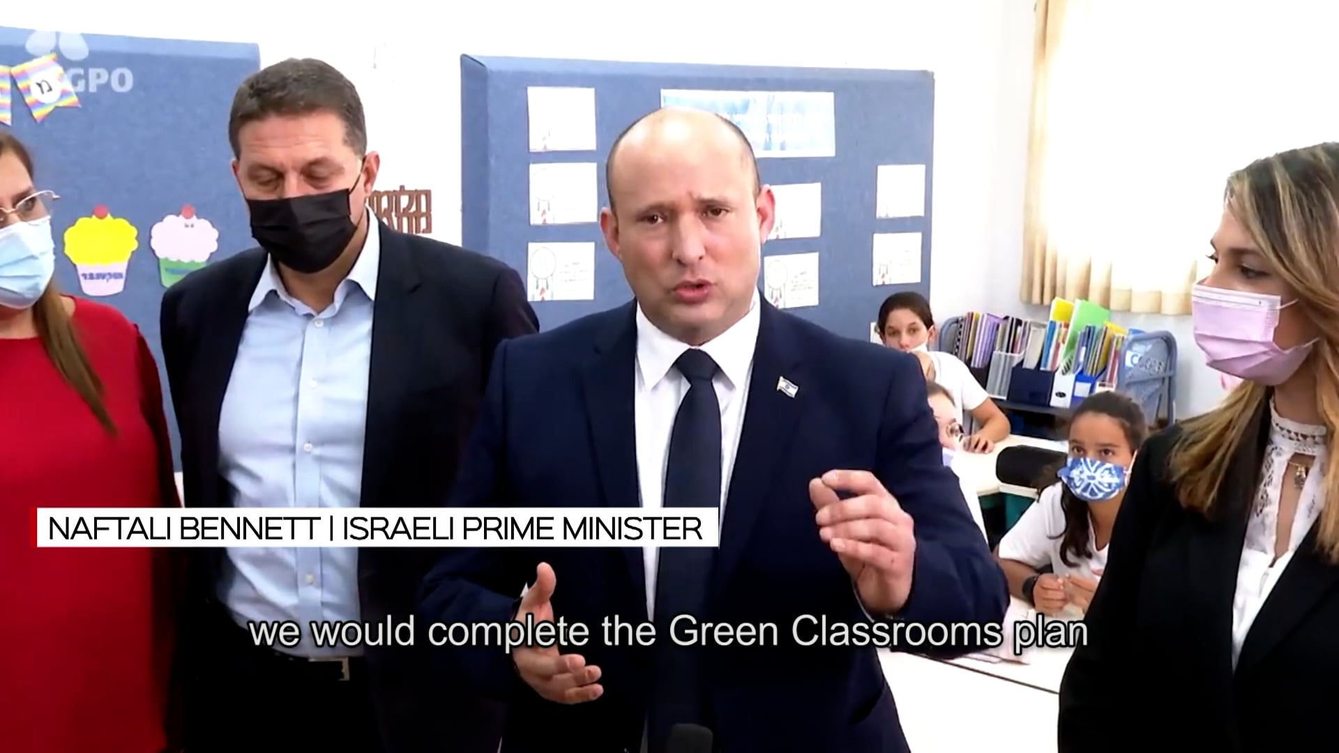Green-classroom plan put into action