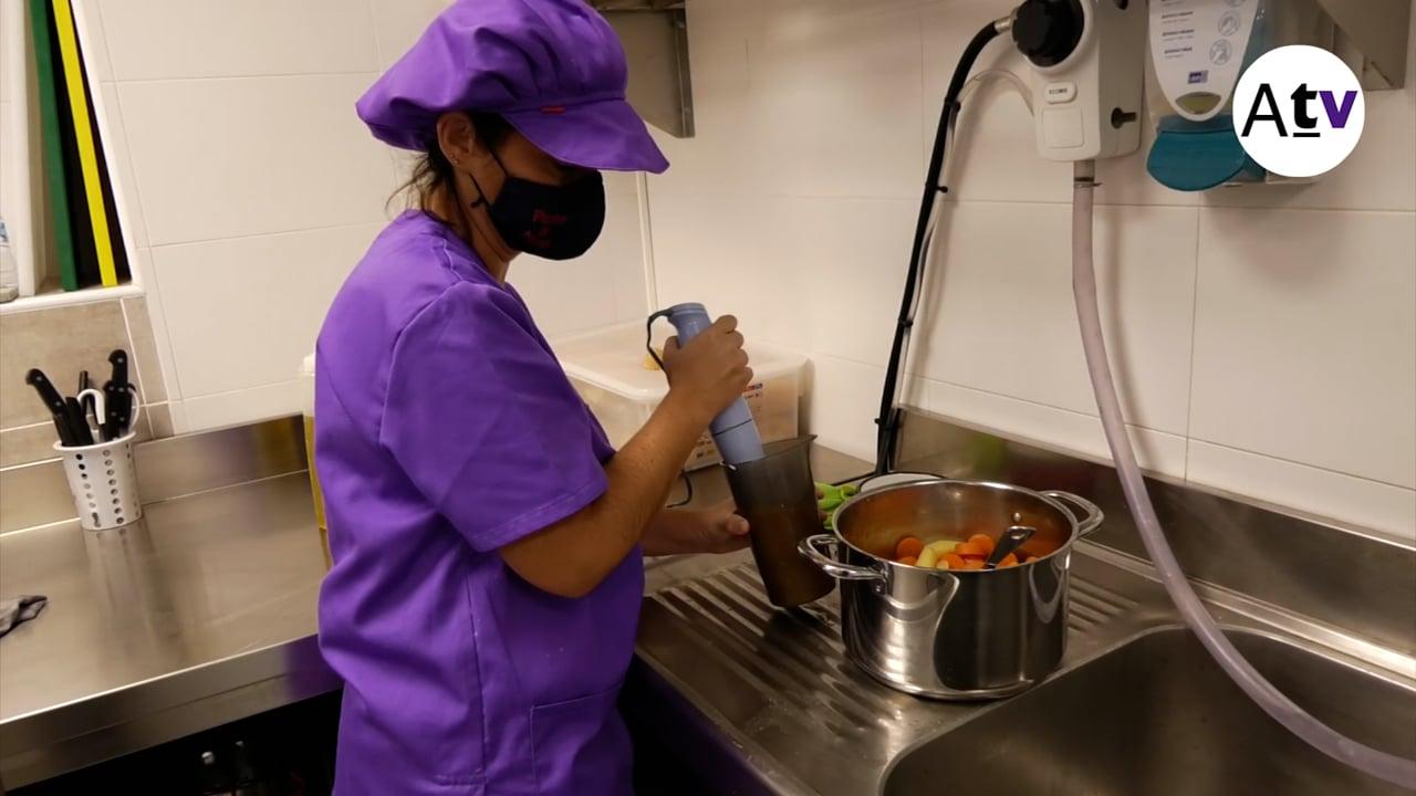 L'Escola Bressol la Petjada ja té cuina pròpia i plaques solars