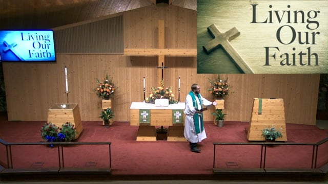 October 10, 2021: Weekly Traditional Worship (8:30 AM) at Christ the King