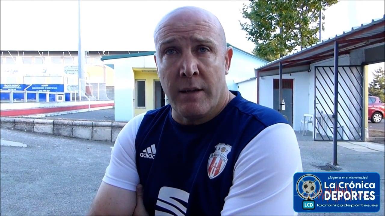 ROBERTO FANDOS (Entrenador Sabiñánigo) AD Sabiñánigo 0-1 CD Sariñena / J 5 / Preferente Gr1 / Fuente Deporte Cantera Sabiñánigo
