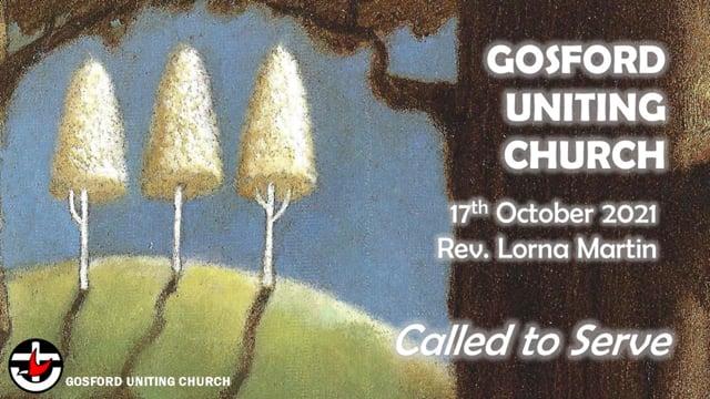 17th October 2021 - Rev. Lorna Martin