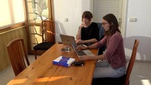 Primers dies de treball del projecte Maresia, guanyador de la beca de tardor