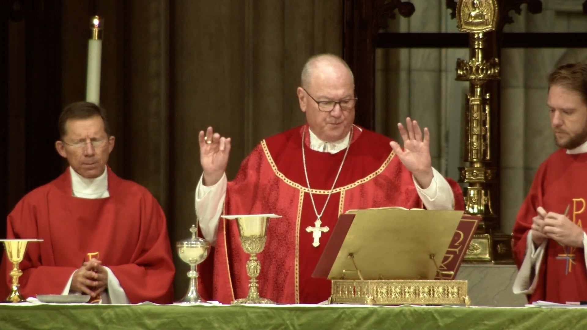 Mass from St. Patrick's Cathedral - October 14, 2021