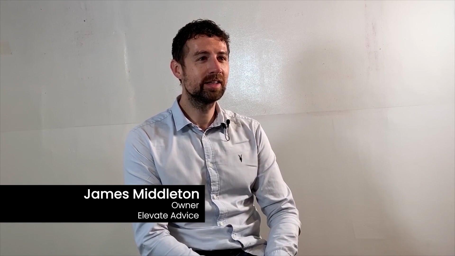 Meet James Middleton, Elevate Advice