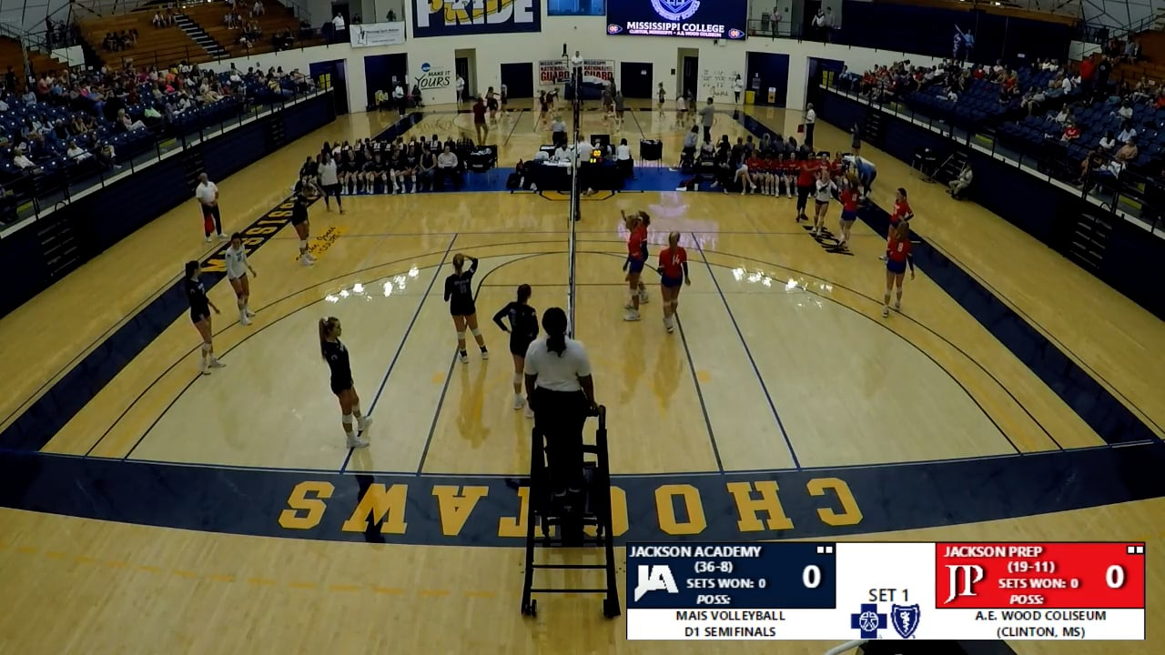 Varsity Volleyball vs Jackson Prep - 10-13-21