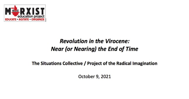 Revolution in the Virocene - Oct 9 2021