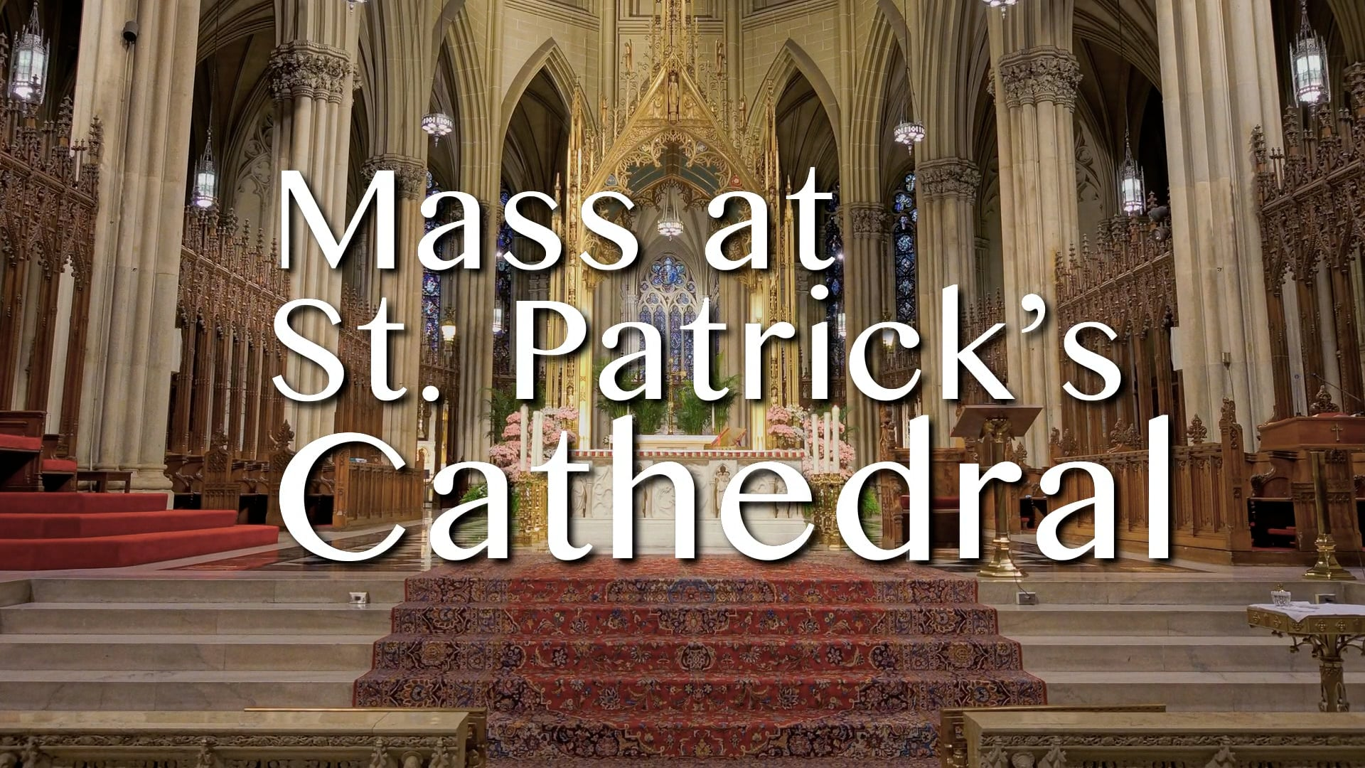 Mass from St. Patrick's Cathedral - October 15, 2021
