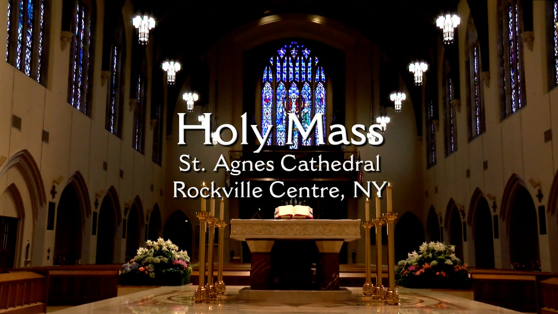 Mass from St. Agnes Cathedral - October 15, 2021