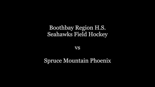 Seahawks Field Hockey vs Spruce Mt
