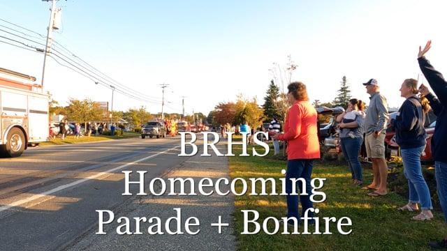 BRHS Seahawks Homecoming Parade and Bonfire