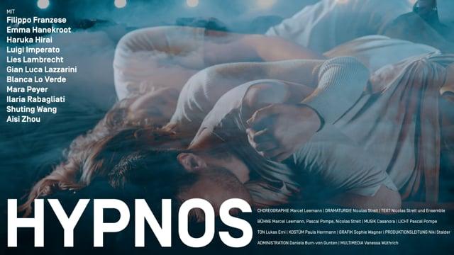 Trailer — HYPNOS Eine Sprungbrett-Tanz-Produktion von Marcel Leemann und Nicolas Streit