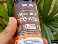 Wow Skin Science Vitamin C Foaming face wash review + demo/skin brightening face wash
