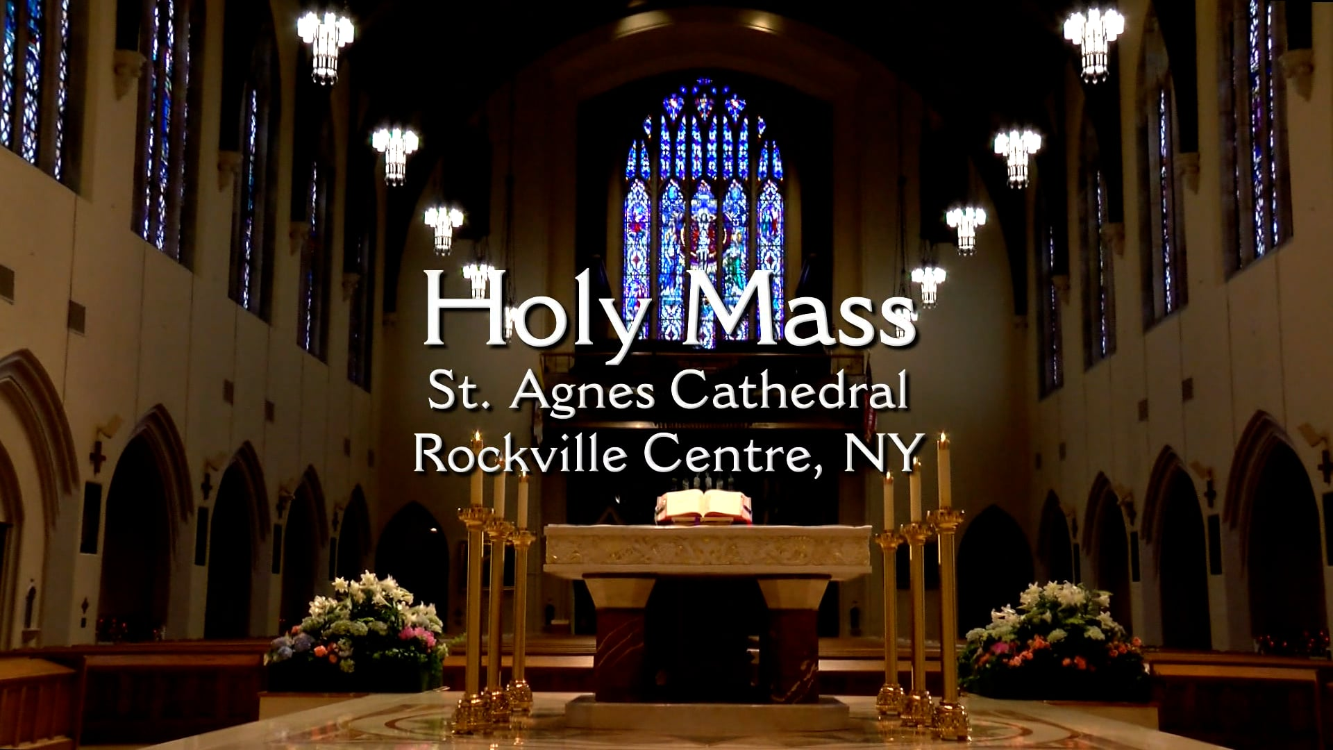 Sunday Mass from St. Agnes Cathedral – October 17, 2021