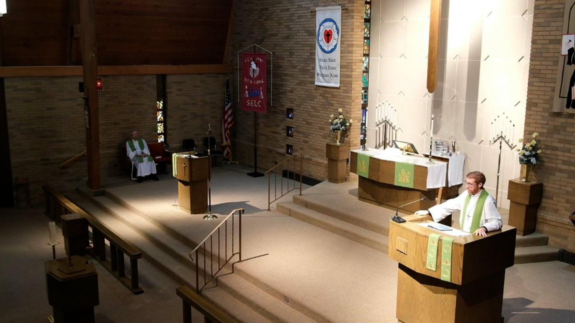 Divine Service, 21st Sunday after Pentecost